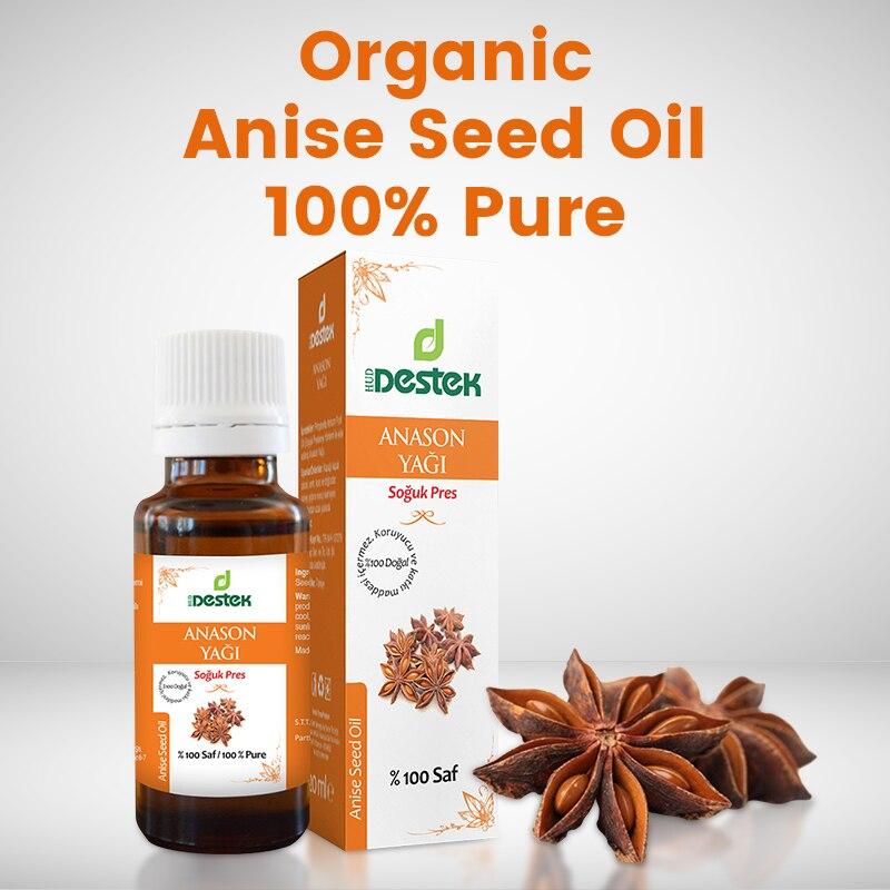 Чистое масло семян аниса органическое 100% 20 мл турецкие семена растительные масла эфирные масла натуральные масла Ароматерапия натуральные...