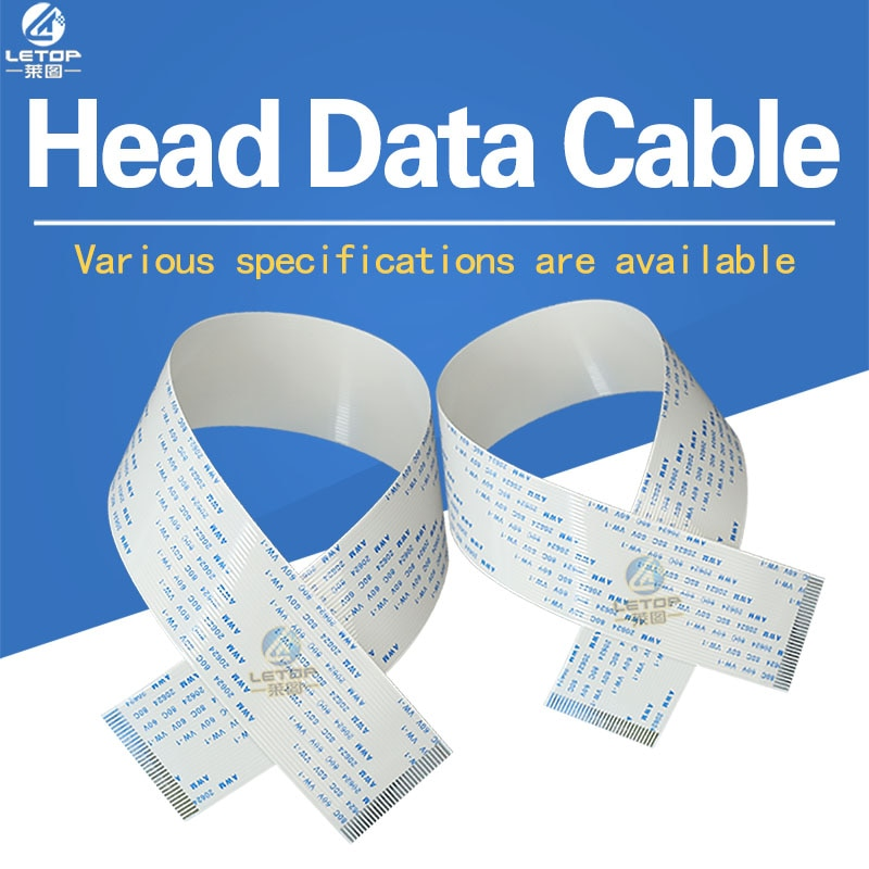 10 Uds. S-p-t 510 30p cable de cabezal de impresión para impresora infinity zhongye (1,0*30 p * 400mm A)