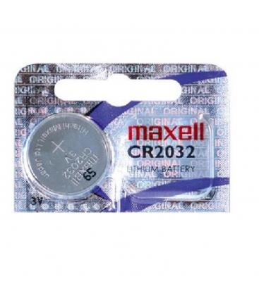 Almofada de boton maxell bateria original litio cr2032 3 v en blister 1x unidad