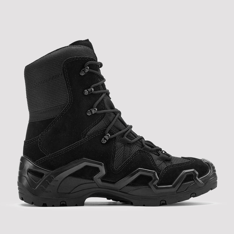روكروستر وول اند الرجال 6 بوصة أحذية قتالية للرجال ، الرحلات مطاط مقاوم للمياه تسولي الظهر أحذية التنزه KS735