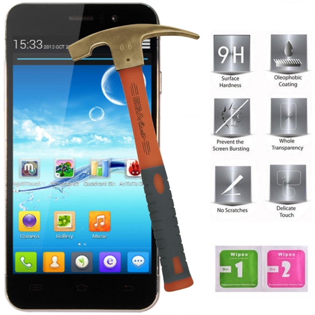 JIAYU G5 tempered glass screen protectors mobile phone accessories
