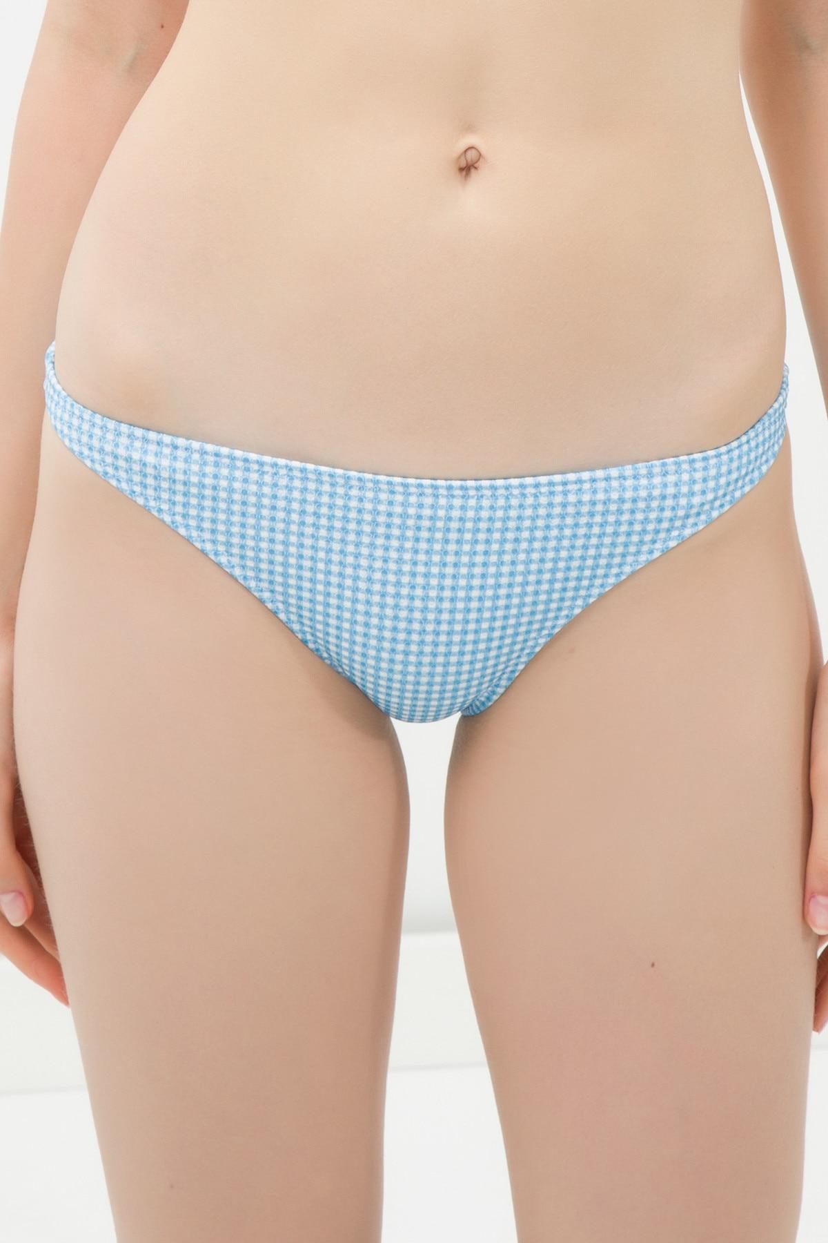 Bikini Koton de mujer, mezcla azul, parte inferior de Bikini 6 YAK88830GM