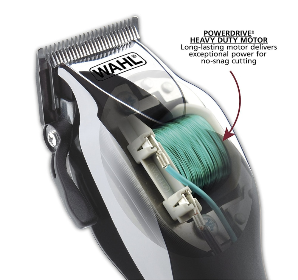 Wahl Chrome Pro 79524 Complete Haircutting Kit for Men Powerful Hair-Beard Total Body Clipping, Trimming, & Grooming Machine enlarge