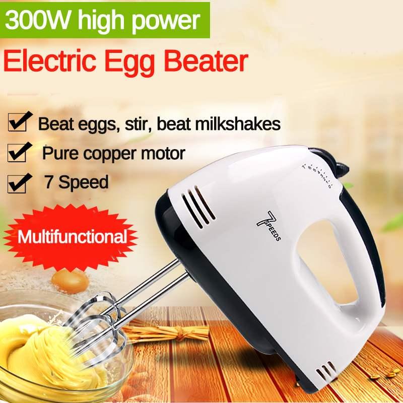 блендеры  пароварки и миксеры Multifunctional Mini Electric Handheld Mixer Egg Beater Automatic Cream Cake Baking Dough Mixer Food Blender Блендеры миксеры