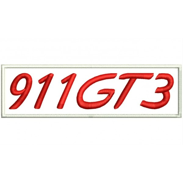 911 GT3 Iron patch toppa ricamata gestickter patch patch brode parche bordado