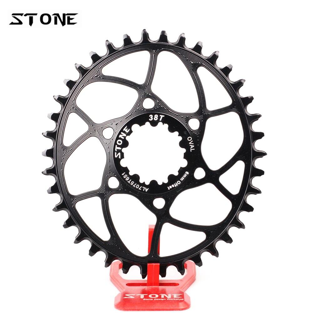 Cadena de cadena ovalada de piedra de 6mm para bicicleta GXP xx1 xo1 eagle DUB de 12 velocidades de Dientes anchos estrecha