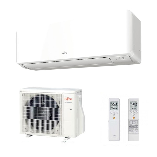 Aire Acondicionado Fujitsu ASY40UI-KM + AOYG14KMTA Split Inverter A++/A+ 3440 fg/h Blanco