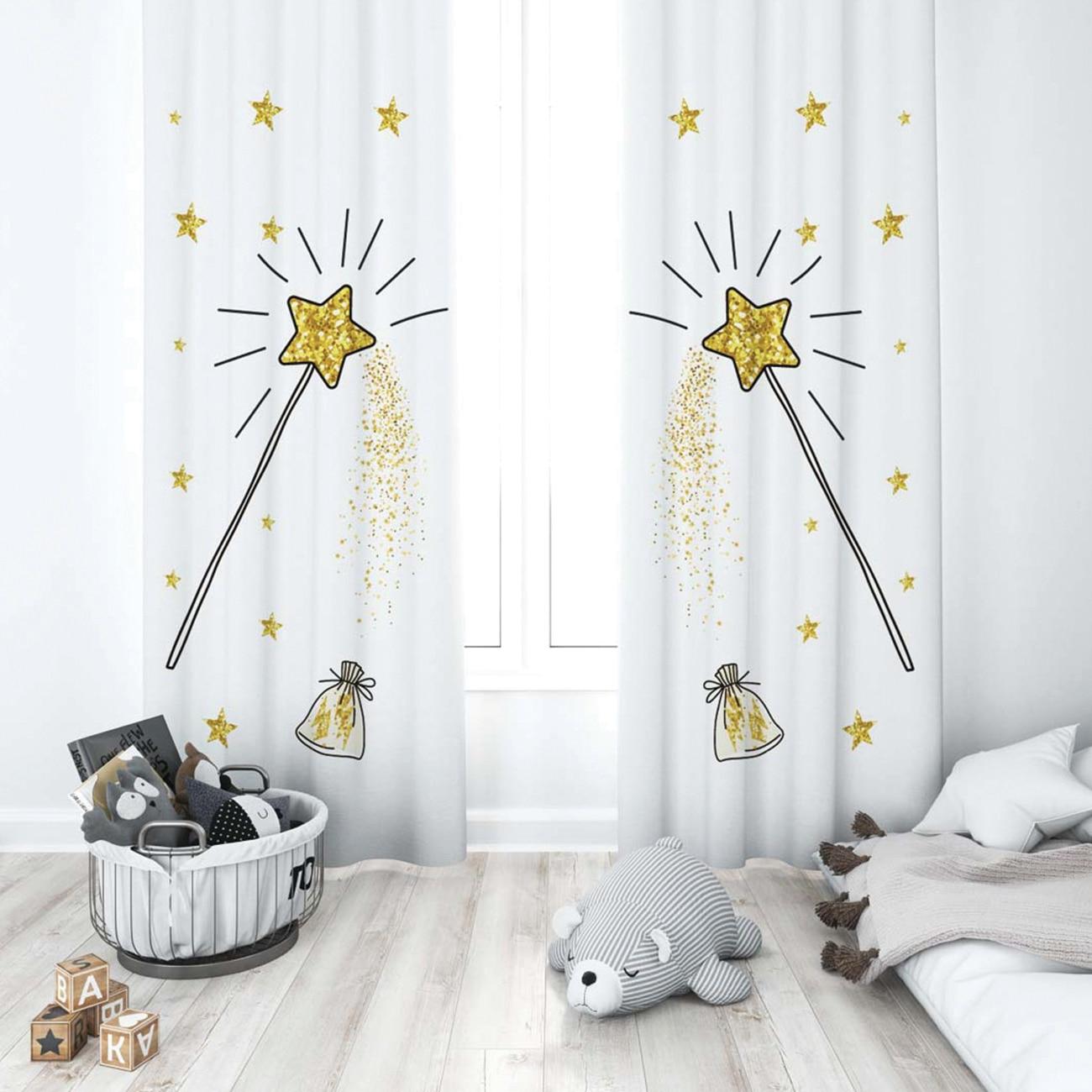Cortina de sombreado para habitación de bebé, diseño especial para sala de...