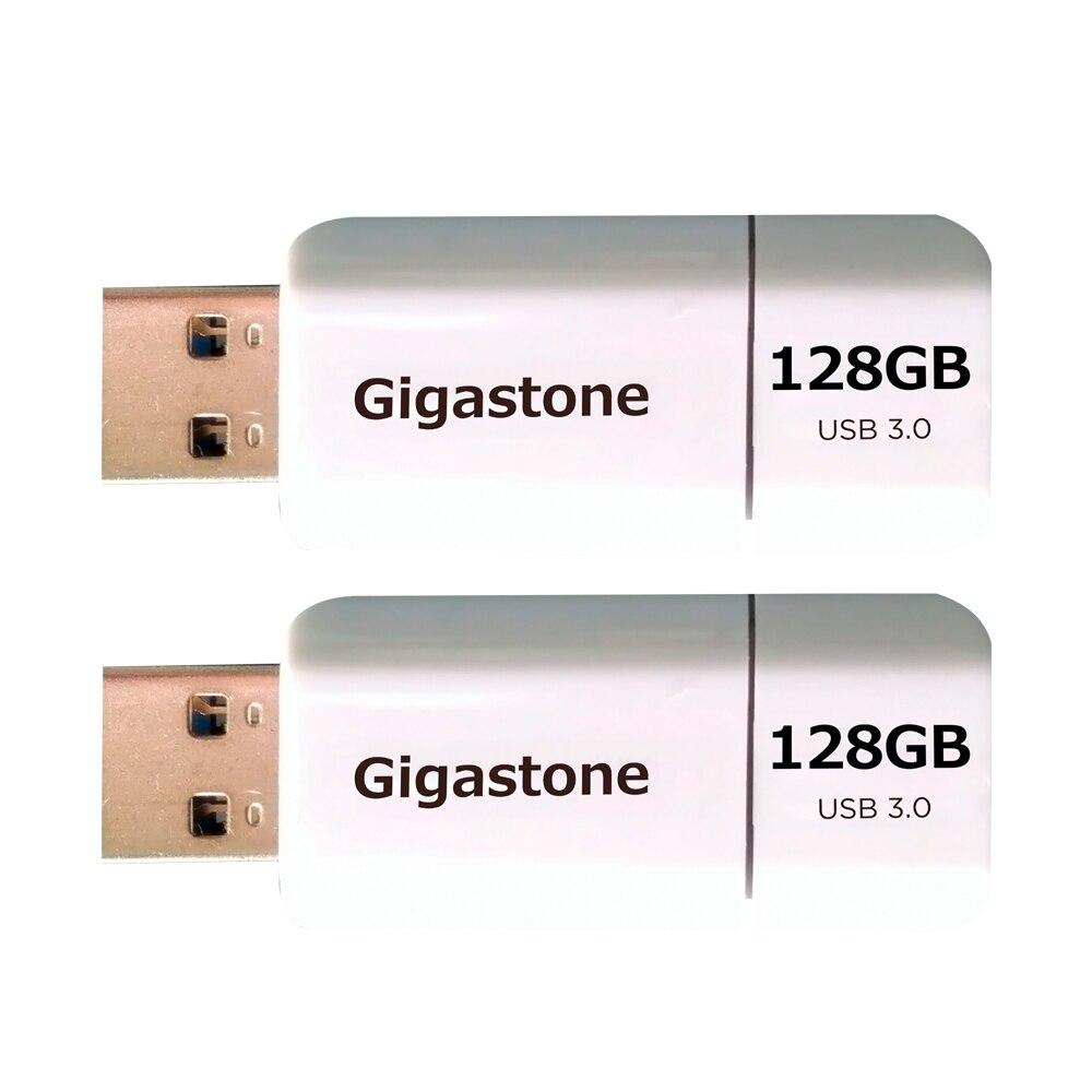 Gigastone Usb3.0 Flash-Drive 2-Pack u-disk haute vitesse 256GB 128GB 32GB 64GB Capless Design rétractable lecteur de stylo