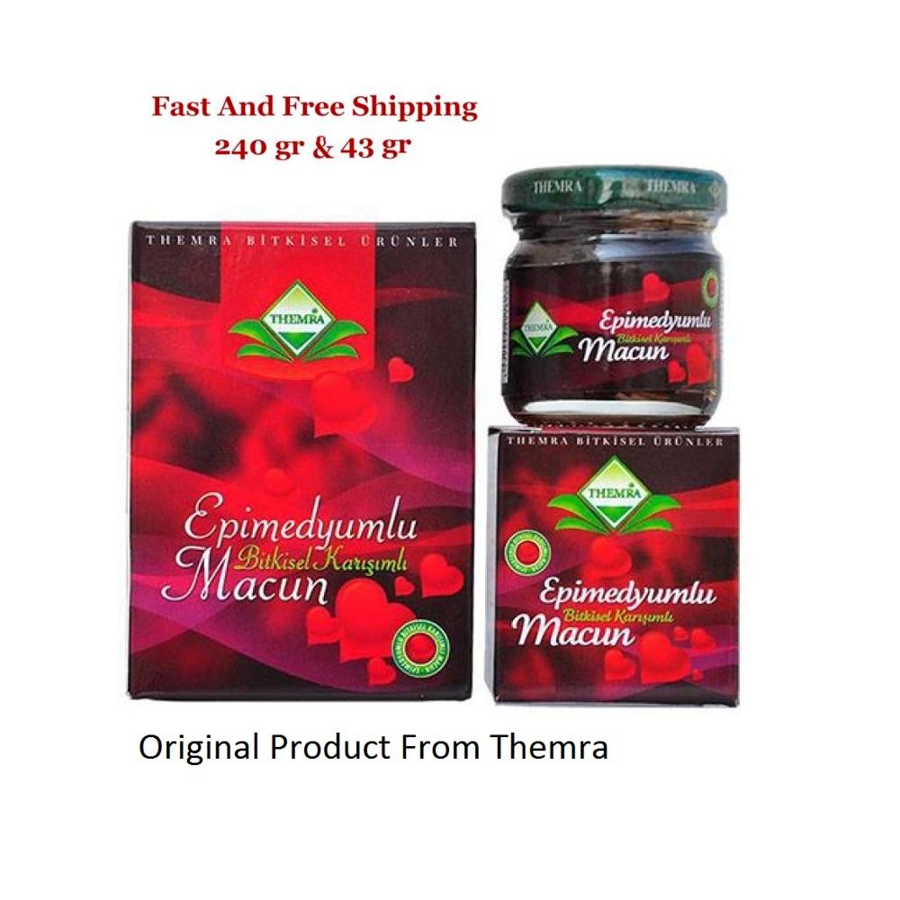 Turkish Epimedium Paste Horny Goat Grass, Ginseng Herbal Aphrodisiac 240g + 43 gr Free Shipping
