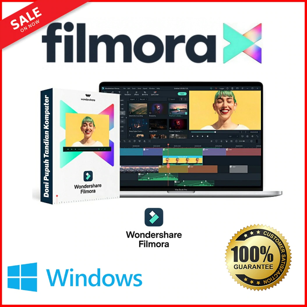 Wondershare Filmora X | Latest Full Version |✅ForEver Activation✅