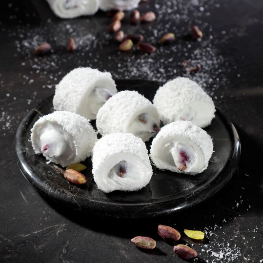 Turkish Delight With Creamy Pistachio And Coconut Coated 400 g недорого