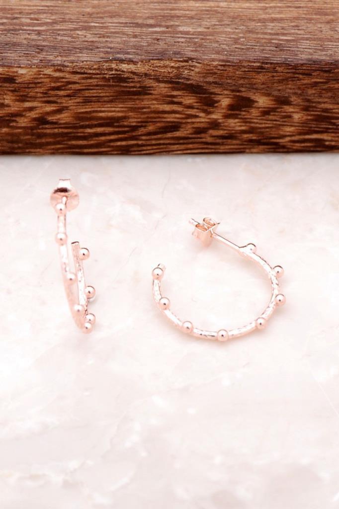 Martillo forjado hecho a mano diseño mediano pendiente de plata Rosa 2171 alta calidad hecho a mano Original filigrana joyería de plata regalo