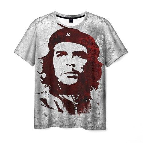 Мужская футболка 3D Че Гевара 1