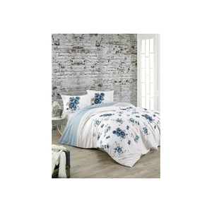 Crystal By Crown 100% Cotton Bedding Set, Home Textile Bedding Set, Bedspread, Duvet Cover Flat Sheet Pillow Case Turkey Deste