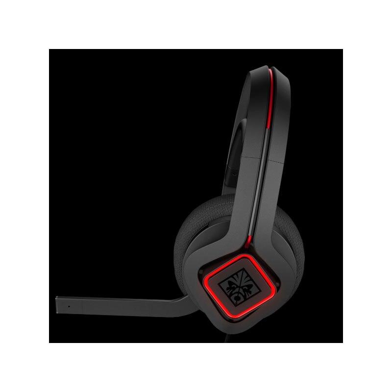 Fone de ouvido com fio hp omen por hp mindframe prime headset cor preta