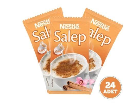 Sahlep | الشراب التقليدي التركي | نستله 24 حزمة | الشفاء الطبيعي | مزيج الحليب | التهاب الحلق | مناعة