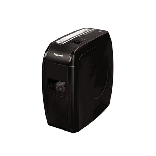 Trituradora de Papel Micro Corte Fellowes 4360201 15 L 12 Hojas Negro
