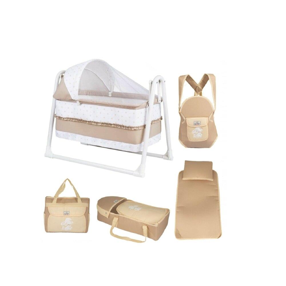 5 шт./комплект, Портативная Сумка-кенгуру для кровати детские кровати кокон для новорожденных кроватка для младенца Бамперы в кроватку недорого