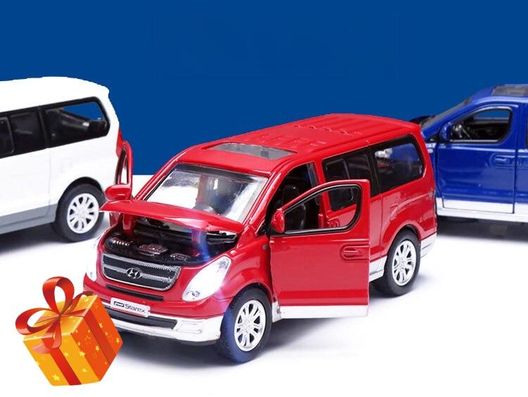 Новые горячие распродажи! 1:38 Hyundai Starex литые модели автомобилей из сплава игрушка для детей Коллекция подарков