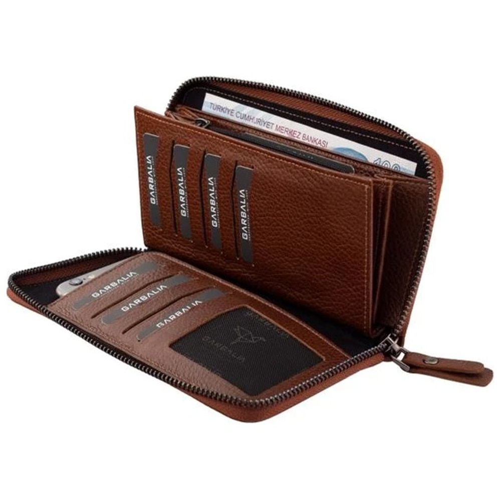 Made Of leather Women Wallets Purses Vintage Women Bags Mobile Phone Bag Women 'S Coin Purse, Genuine Leather