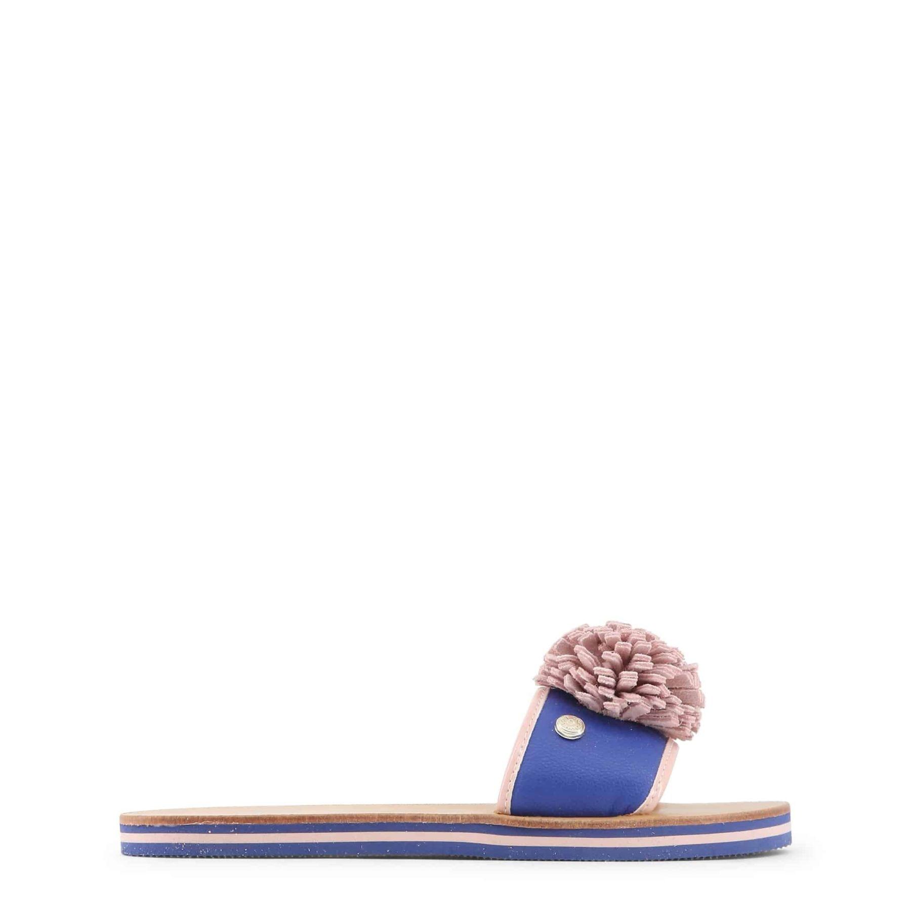 Love Moschino - JA28012G15ID - Azul Sandalias de mujer, calzado de verano, chanclas
