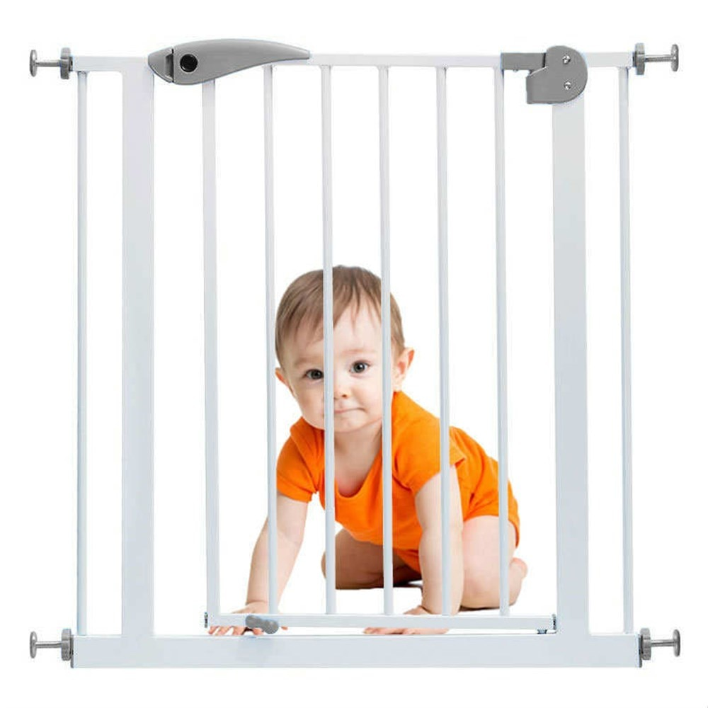 FS Children Safety Gate Baby Protection Security Stairs Door Fence For kids Safe Doorway Gate Pets Dog Isolating Fence Product