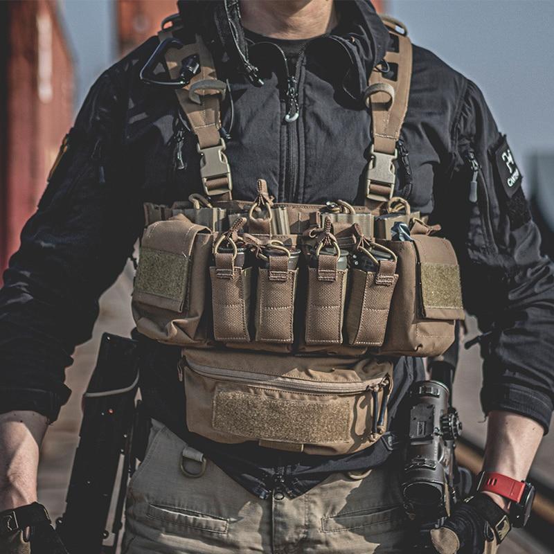 Pew Taktische D3CRX Taktische Brust Rig Haley Strategische