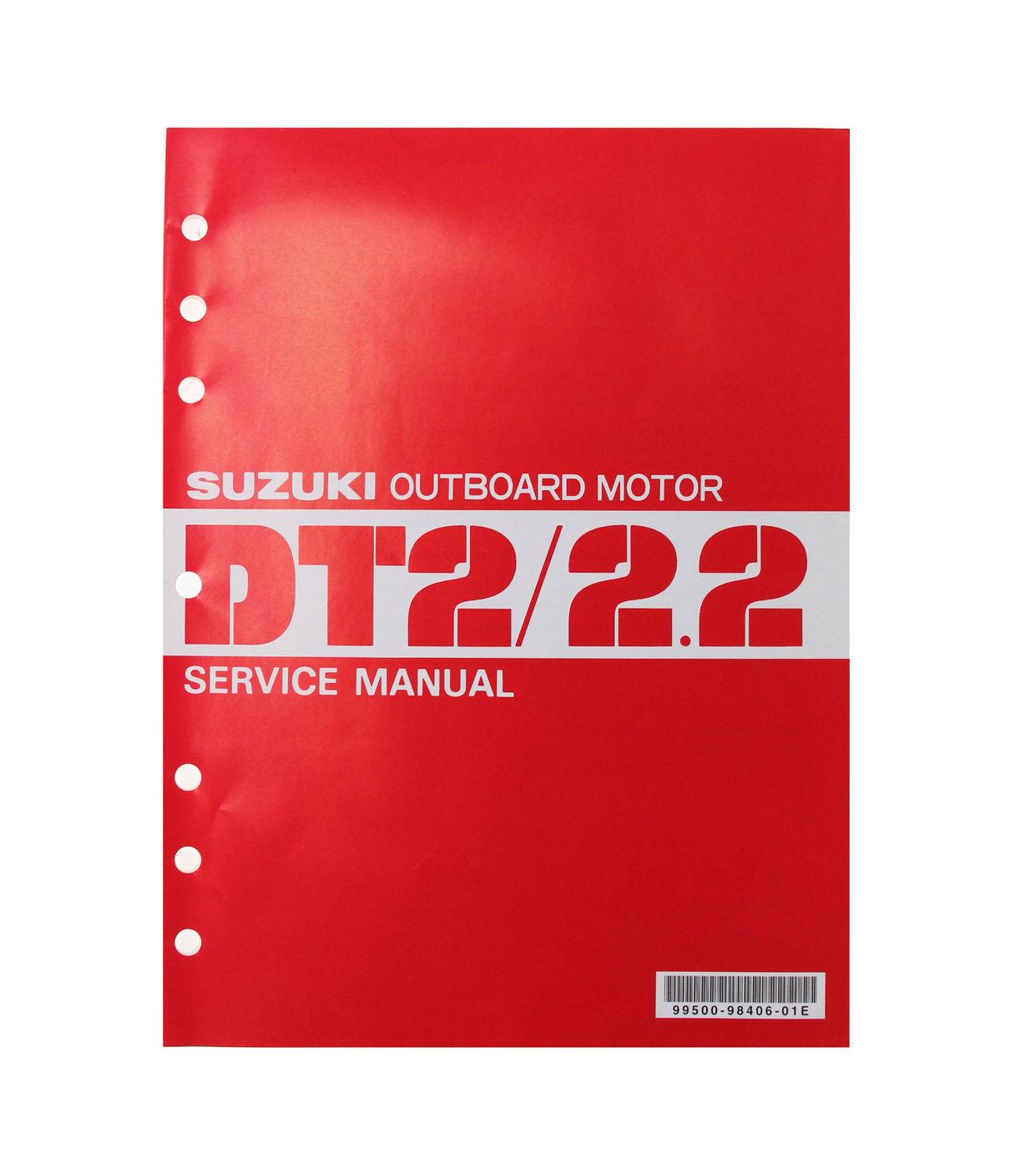 Manual de serviço suzuki dt2-2. 2 (inglês) 995009840601e