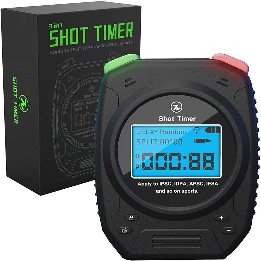 Shot Timer-Suitable For Dry Fire Training In Gun Shot, Hunting Shooting, USPSA, IPSC Timer, EPSC, IDPA, 3 Guns, Steel Challenge