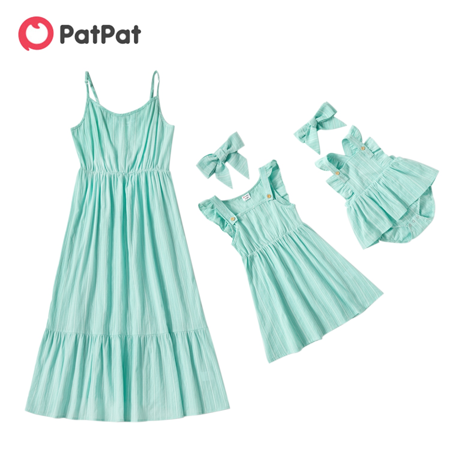 Fitted Mint Green Dress