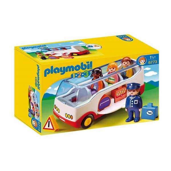 Playset 1.2.3 автобус Playmobil 6773 белый