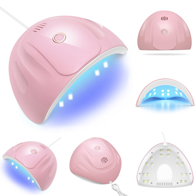 wenyi 2 hand 72w lamp for nails 10s 30s 60s 99s timer uv led gel light lamp nail art manicure machine dryer for nails Nail Drying Lamp 88W UV Lamp Gel Nail Dryer LED UV Light for Nails Machine Nail Curing Lamp for Gel Polish Nail Art Tools