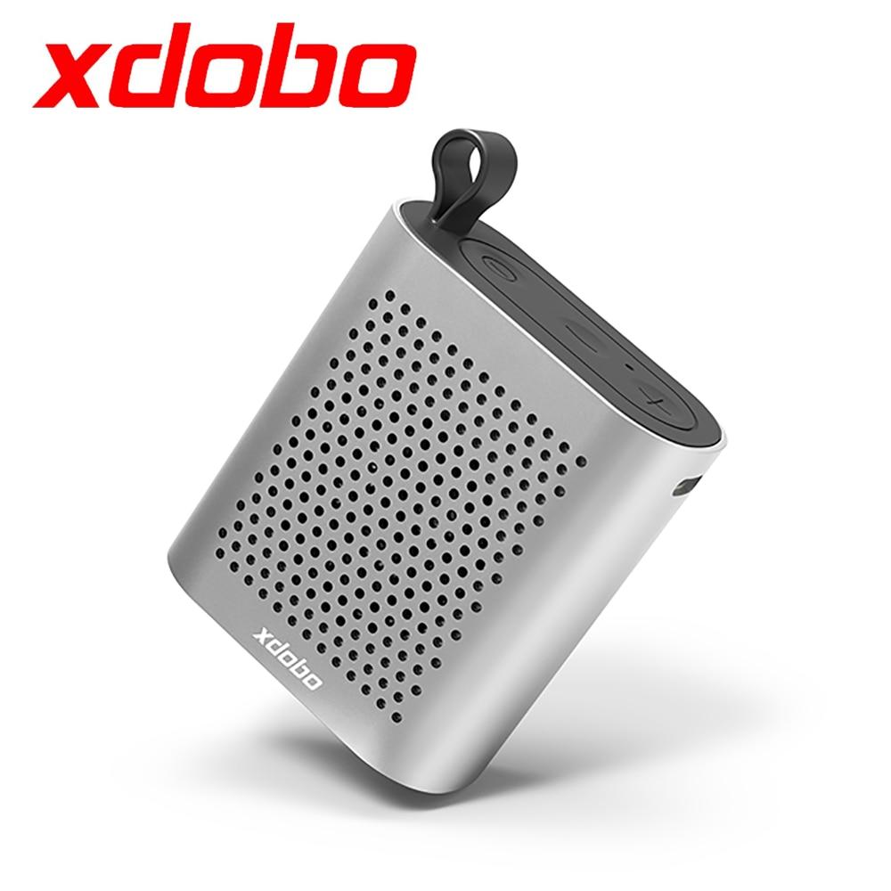 Xdobo X1 جديد وصول مكبر صوت بخاصية البلوتوث قابل للنقل صغير لاسلكي في الهواء الطلق الرياضة مقاوم للماء بصوت عال المتكلم المحيطي العميق باس الموس...