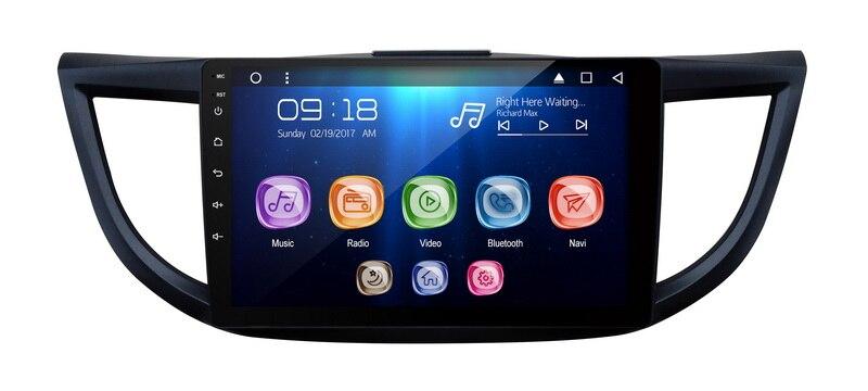 "Allways 10,1 ""IPS pantalla Android 9,0 octa-core Ram 2GB Rom 32GB coche Multimedia para Honda CRV 2012-2015 pantalla táctil completa"
