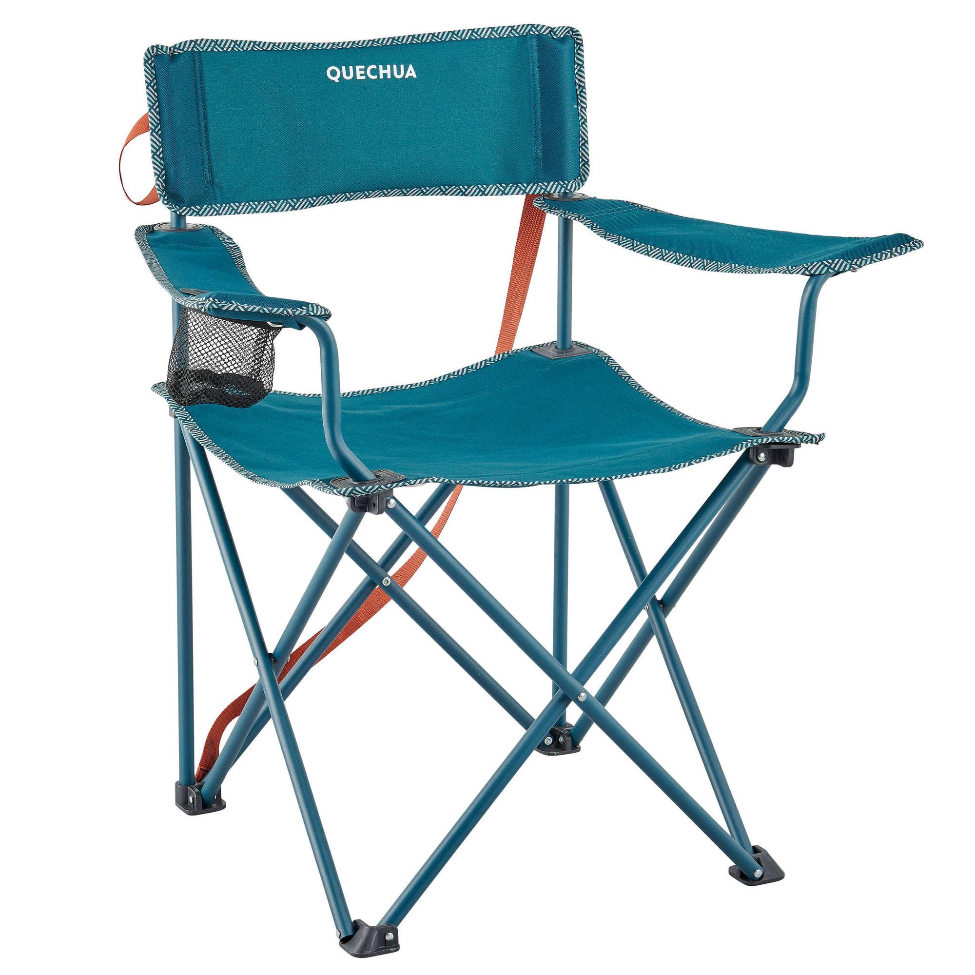 Portable Ultralight Camping Chair Outdoor Folding Fishing Chair Aluminum Alloy Beach Picnic Chair Blue