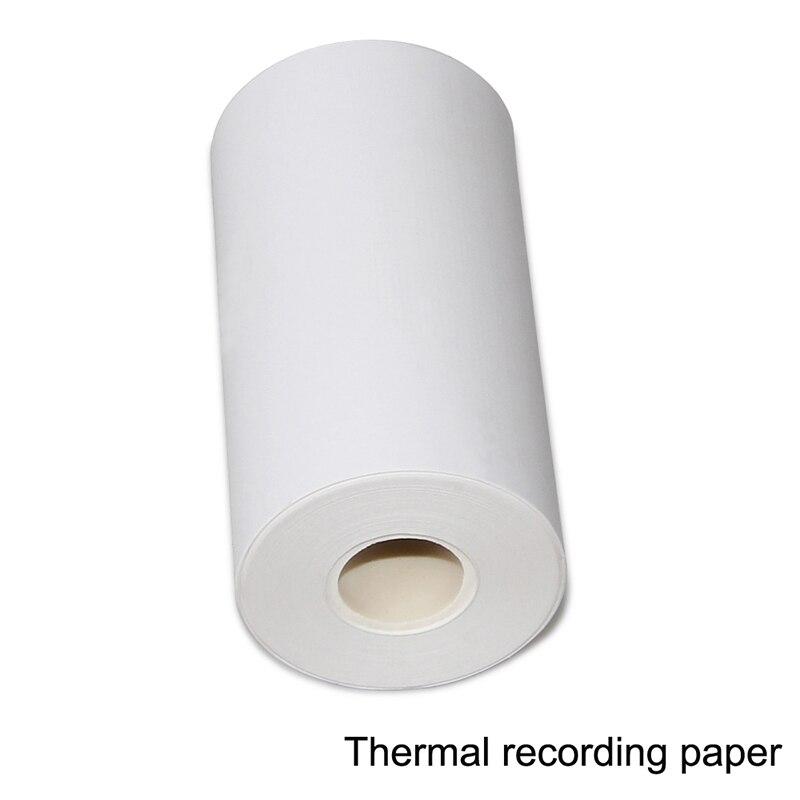 10 PCS Thermal Recording Paper Printer Paper 80mm(W)*20m(L) For CONTEC ECG300G ECG Machine CE