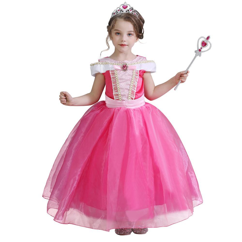 Ropa elegante para niña, vestidos para dormir, vestidos de fiesta de princesa, ropa de Halloween para niños, vestidos para niñas, Disfraces para Niñas