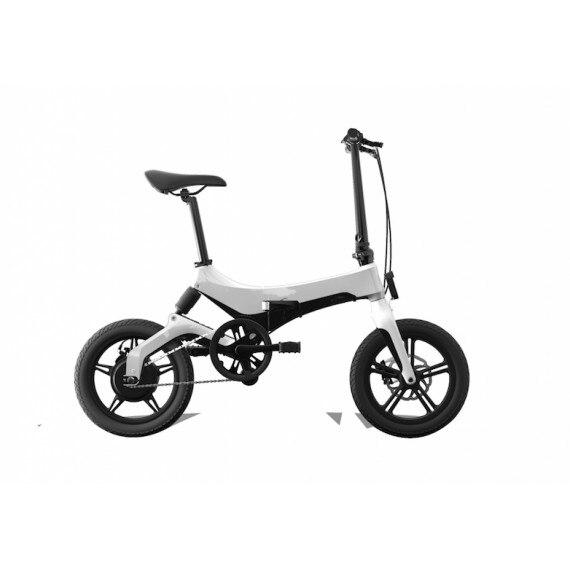 Bicicleta elétrica mini inteligente portátil e dobrável iwebtrade