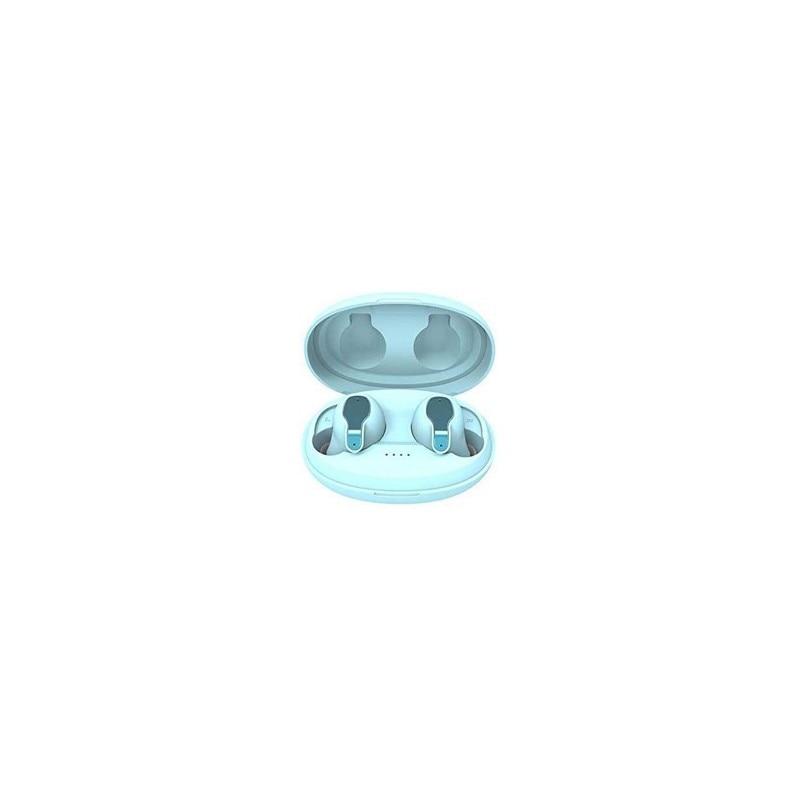 Famz Auriculares bluetooth 5.0 tws xy - 5 azul