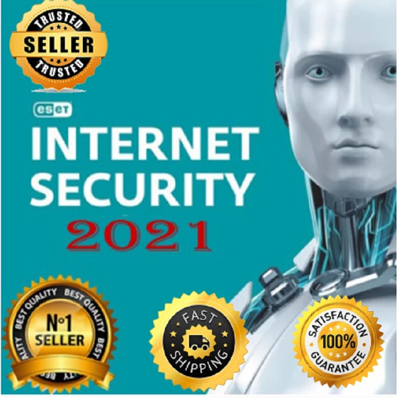 ESET NOD32 INTERNET SECURITY 2021 1 YEARS1 PCWORDWIDE ACTIVATION KEY