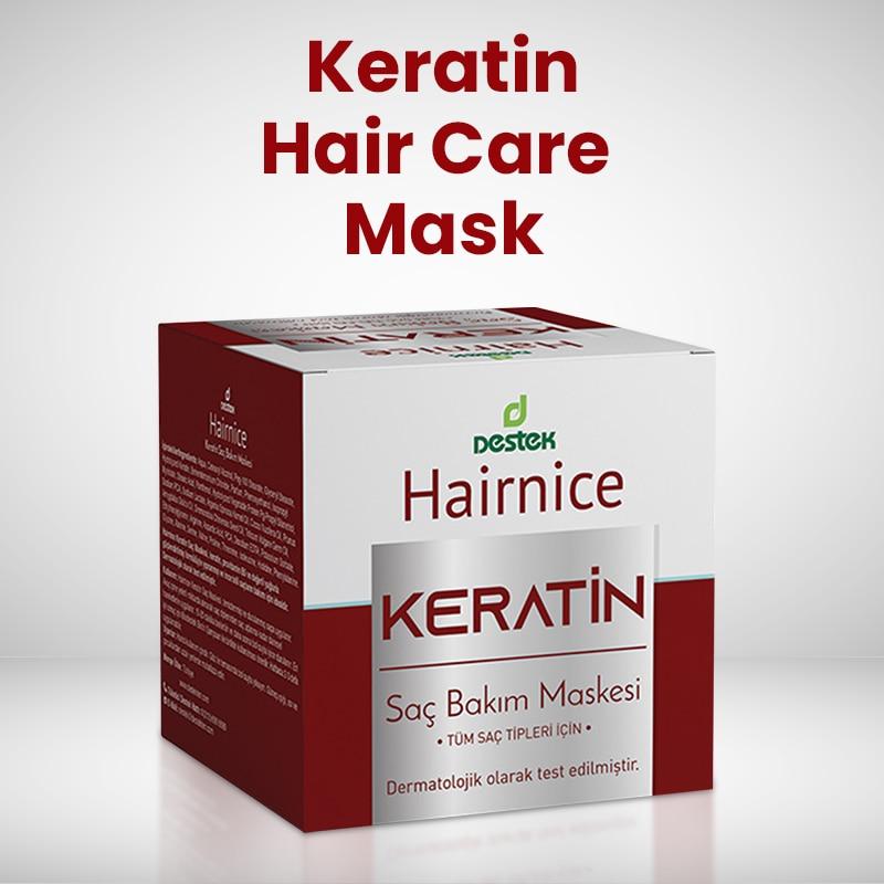 Keratin Hair Care Mask 150 gr / Hair Care Deep Repair Hair Mask Keratin Hair Care Mask Repair Damaged Hair Roots Restore Soft Hair From Turkey недорого