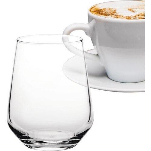 Paşabahçe 6lı Allegra Kahve Yanı Su Bardağı Likör Bardağı Seti
